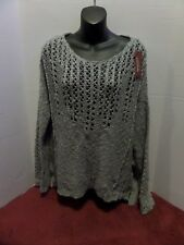 JCPenny bell sleeves oversized sweater see through CHOOSE the color!! FREE SHIP
