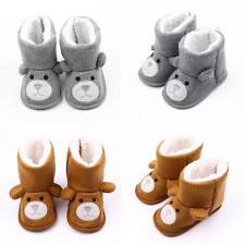 Infant Baby Boys Girls Winter Booties Anti Slip Toddler Snow Boots Crib Shoes