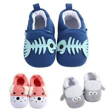 New Baby Toddler Cartoon Cotton Non Slip Soft-sole Crib Shoes Sneakers Slippers
