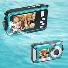 Digital Camera Waterproof 24MP MAX 1080P Double Screen16x Zoom Camcorder LS