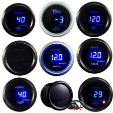 "2"" DIGITAL LED BOOST / WATER TEMP /OIL TEMP/ OIL PRESSURE / TACHO Meter GAUGE AU"