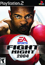 Fight Night 2004 (Sony PlayStation 2, 2004) Greatest Hits WITH MANUAL