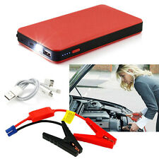 Red 12V 20000mAh Multi-Function Car Jump Starter Power Booster Battery Charger S
