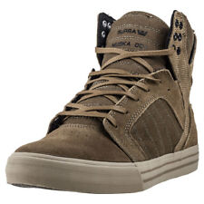 Supra Skytop Mens Trainers Olive New Shoes