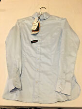 Ariat Woman's Coolmax Victory Vent Show Shirt in Blue NEW