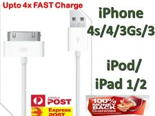USB Data Cable Sync Fast Charger for Apple iPhone 4 4S 3GS 3 iPod Touch iPad 1
