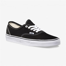 Vans Classic Era Sneakers Canvas Skateboard Authentic Black/White Vn-0Ee3blk