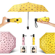 Mini Pocket Umbrella Compact Folding Travel Parasol Portable Windproof Pink 2017