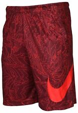"""Men's Nike 9"""" Fly Dri-Fit Training Basketball Shorts Red Camo 904627 681 NEW"""