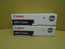 LOT OF 2! GENUINE CANON GPR-2 1389A004(AA) TONER IMAGERUNNER 330/400