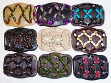 """Double Magic Hair Combs, Angel Wings Clips 4x3.5"""", African Butterfly,Quality S62"""