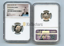 1995 S SILVER ROOSEVELT DIME 10c NGC PF70 ULTRA CAMEO