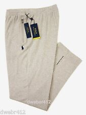 Mens Polo Ralph Lauren BIG TALL Performance Training Gray Track Pants Sweatpants