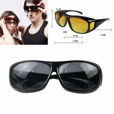 Men's Wrap Around HD Night Vision Driving Glasses Eyewear Goggles As Seen on TV