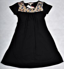 NWT Girls Sizes 10, 12 Speechless Black Sequin Detail Special Occasion Dress