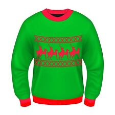 Adults Christmas Theme Christmas Jumpers New Festive Xmas Sweater Top Gift Idea