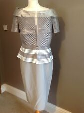 Taupe/Ivory Veni Infantino Mother Of The Bride Outfit Size 8 Style: 991244