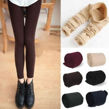 Womens Warm Winter Thick Skinny Slim Footless Leggings Stretch Pants New CM