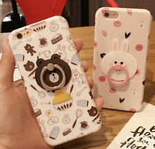 Bear Rabbit Cute phone case Shell case Cover For iPhone 6/6S 7 plus Christmas