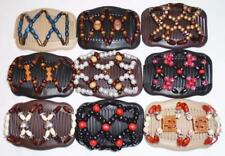 """Double Magic Hair Combs, Angel Wings Clips 4x3.5"""", African Butterfly,Quality S44"""