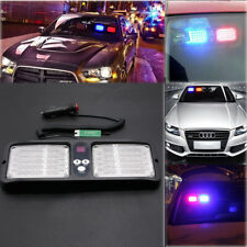 12V Car Sun Visor Strobe Flash Light Emergency Warning Lights 86 LED Multi-color