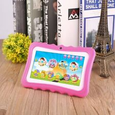 "7"" Quad Core HD Tablet Bundle for Kids Android Kitoch Camera WiFi Lot LN"