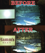 Hamms Beer Barrel Sign Replacement Parts - New Restored Color