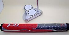 2-BALL PUTTER, WINN PRO-X GRIP AND LENGTH CHOICES, APOLLO SHAFT, SOFT INSERT