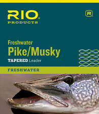 RIO Pike/Musky II Tapered Nylon Coated Knottable Wire Fly Fishing Leader