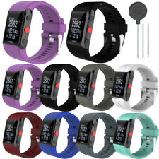 Replacement Silicone Rubber Watch Band Wrist Strap For POLAR V800 Watch