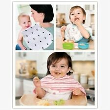 4Pcs Baby Boy Girl Kids Bibs Waterproof Saliva Towel Cotton Bibs Feeding Bandana