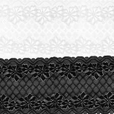 5 Yards 24cm Handmade Patchwork Material Lace Ribbon DIY Sewing Lace Trim Fabric