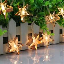 Battery Operated LED Fairy String Light Holiday Xmas Wedding Decoration Lamp