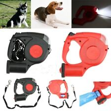 Retractable Dog Leash 16ft Soft Grip Walking Leash for Dogs Up to 110 lbs FG