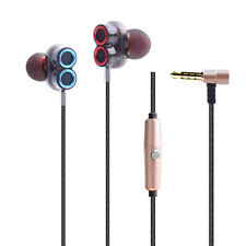 MagiDeal In-Ear Headphones Double Driver Unit Earbuds Stereo Heavy Bass