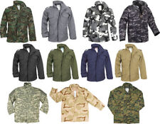 Camouflage Military M-65 Field Coat Army M65 Jacket