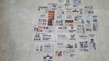 Lot of 25 Grocery Coupons FOOD Only !! BIG Savings. LOOK!  2018