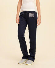 Abercrombie & Fitch - Hollister Women's Snap Graphic Track Pants XS Navy NWT