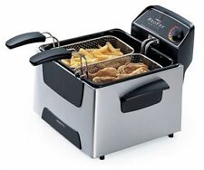 Presto ProFry Deep Fryer, Dual-Basket, Stainless Steel, 05466 Immersion element