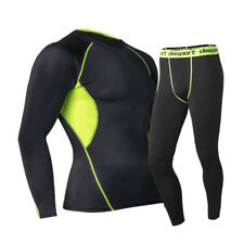 New Thermal Underwear Sets Thermo Long Johns Mens Winter Warm Compression