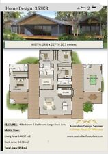 Acreage House Plan For Sale 4 or 5 Bedrooms Home Plan Acreage 353m2 or 3800 sq