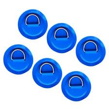 6pcs 316 Stainless Steel D Ring Pad for PVC Inflatable Boat Raft Kayak