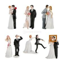 Wedding Prom Cake Topper Bride Groom Funny Figurine Cake Toppers Newlywed