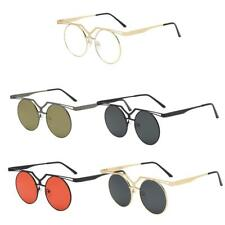 Fashion Mens Sunglasses Retro Design Round Sun Glasses Steampunk Shades Womens