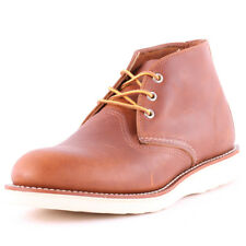 Red Wing 3140 Classic Mens Chukka Boots Tan New Shoes