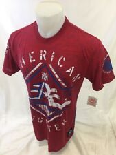 AMERICAN FIGHTER By AFFLICTION Mens T Shirt RED OBERLIN FM5173 M L XL 2XL 3XL