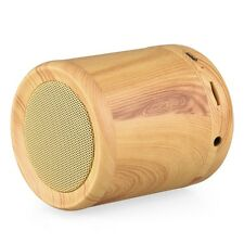 AS29 Mini Cylinder Wooden Bluetooth Dual Speaker For Smart Phone/Tablet/iPod/MP3