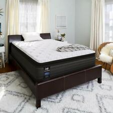 "Sealy Response Performance 13.5"" Plush Euro Pillowtop Mattress - In Home..."