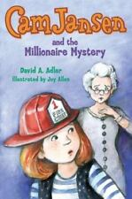 CAM JANSEN AND THE MILLIONAIRE MYSTERY HARDCOVER WITH DUSTJACKET NEW AGES 7 & UP
