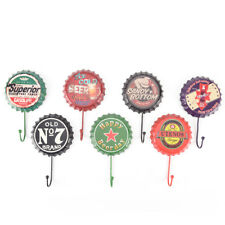 retro metal sign tin beer bottle cap cover hook pub bar club cafe home wall##
